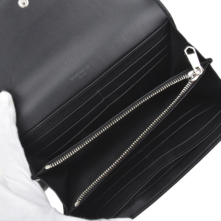 GIVENCHY Givenchy BC0 6214 694 / 001 BLACK ladies and long wallet / purse / gift 02P01Oct16