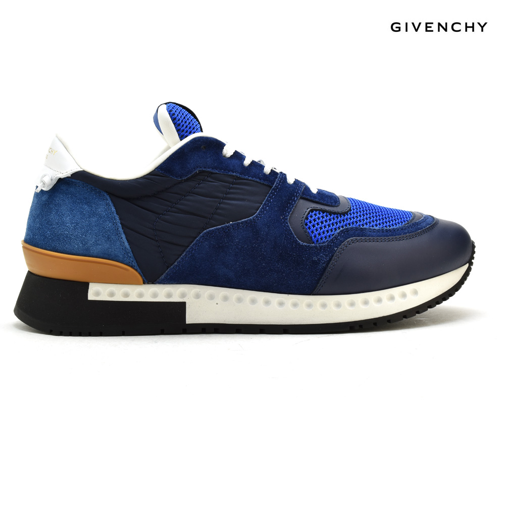 Givenchy GIVENCHY BM0 8217 972 408 sneakers running shoes navy-blue blue  NAVY BLUE men 5e1627bba