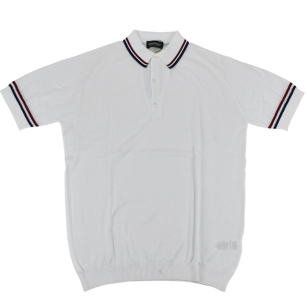 JOHN SMEDLEY ジョンスメドレー ポロシャツ 9041ARNFIELD WHITE/INDIGO/RUSSET/RED/メンズ/トップス/TOPS【SS】【送料無料】【SSJS】