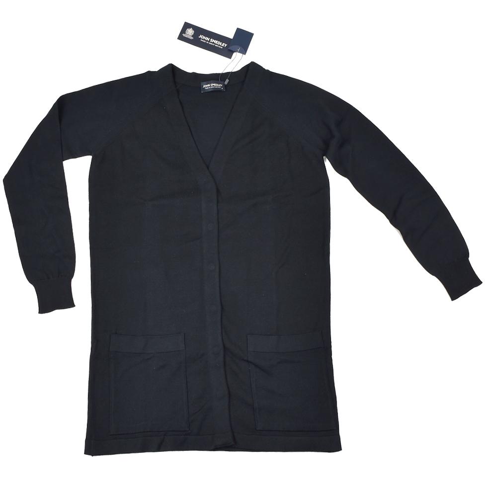 JOHN SMEDLEY ジョンスメドレー カーディガン 9140ORIN BLACK IS BLACK レディース/カーデ/羽織り/母の日/ギフト 【送料無料】【SSJS】