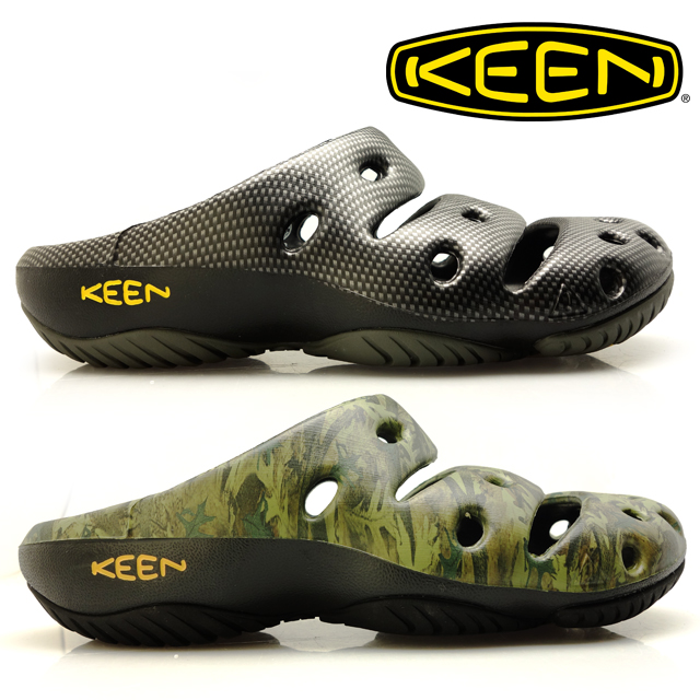 b48f6f06bff9 CLOUDMODA  KEEN Kean yogi arts YOGUI ARTS men GREEN BLACK festival ...