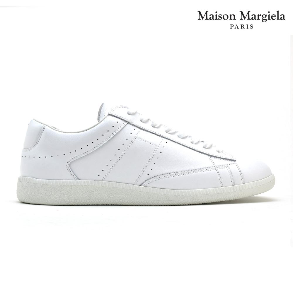 メゾンマルジェラ Maison Margiela S30WS0130 SY0277/101 Ace スニーカー ラウンドトゥ レースアップ メンズ ホワイト 白 SNEAKER White 40