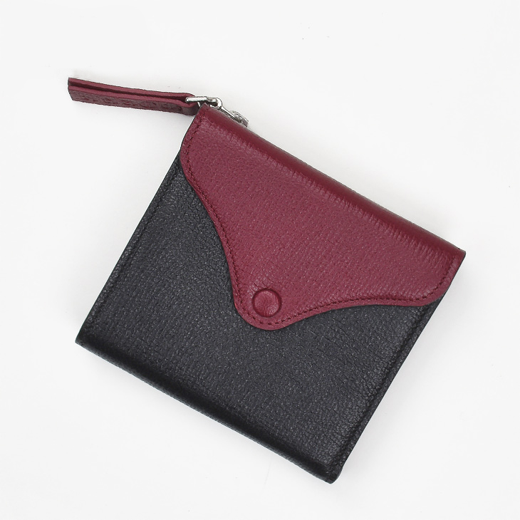 Maison Margiela メゾンマルジェラ S56UI0068 SX9947 963 SLG Black bordoeux レディース 財布 二つ折り 小銭入れ ギフト 送料無料0wXP8Onk