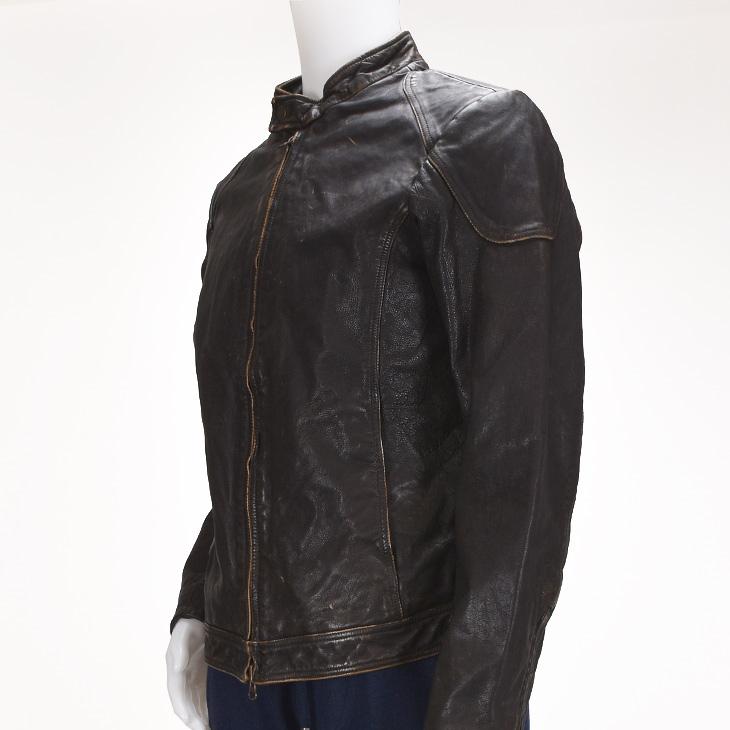 【アウターSALE価格】MINORONZONI ミノロンゾーニ Jacket ジャケット MRF167J209 メンズ/アウター/レザー/ライダース【AW】【送料無料】