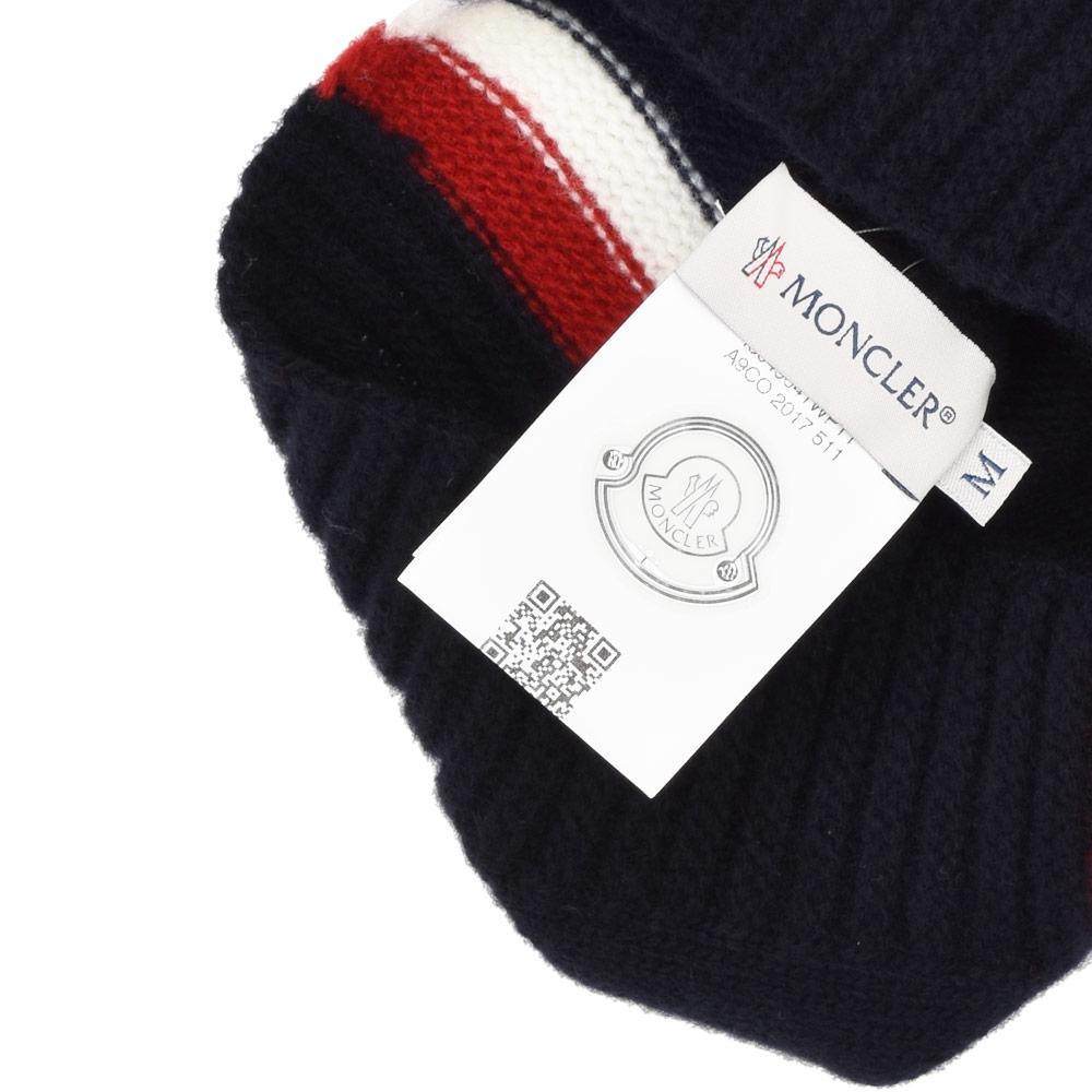 f7dfff81c64 Monk rail MONCLER 00123.05 04S08 742 wool knit hat knit cap men gap Dis  kids Boys navy NAVY