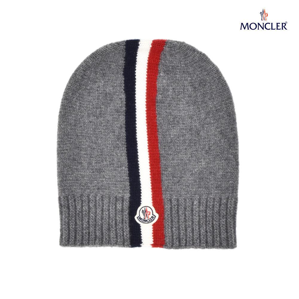 モンクレール MONCLER 00123.05 04S08/987 ウール ニット帽 ニットキャップ メンズ レディース キッズ ボーイズ グレー GRAY【送料無料】