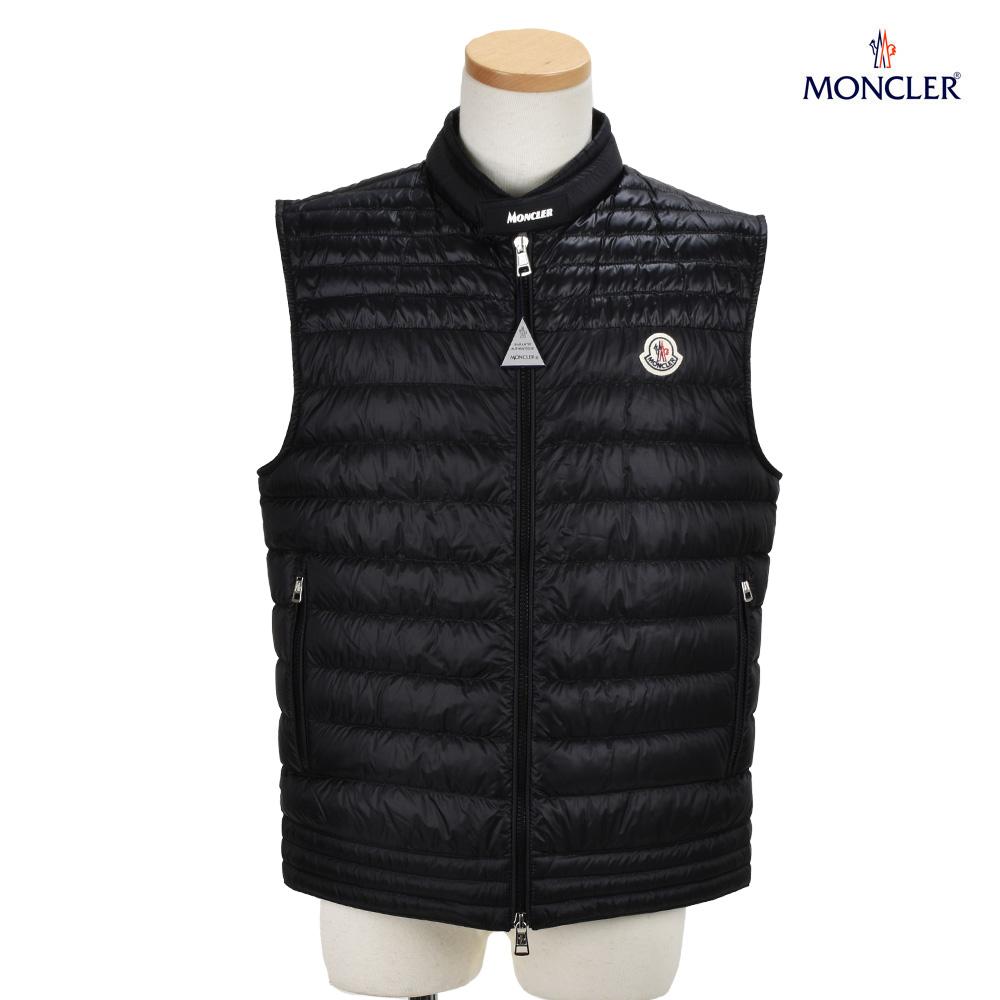 モンクレール MONCLER 1A105.00 C0451/999 GIR LONGUE SAISON BLACK ロングシーズン ダウンベスト ジレ ブラック 黒 メンズ 【送料無料】