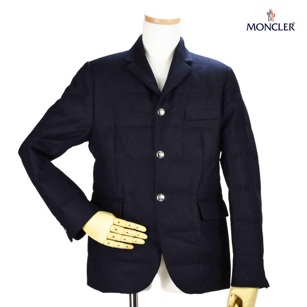 Monk rail MONCLER 30918.80 54233/742 REGOR DARKNAVY blazer 3B jacket tailored jacket dark navy dark blue men