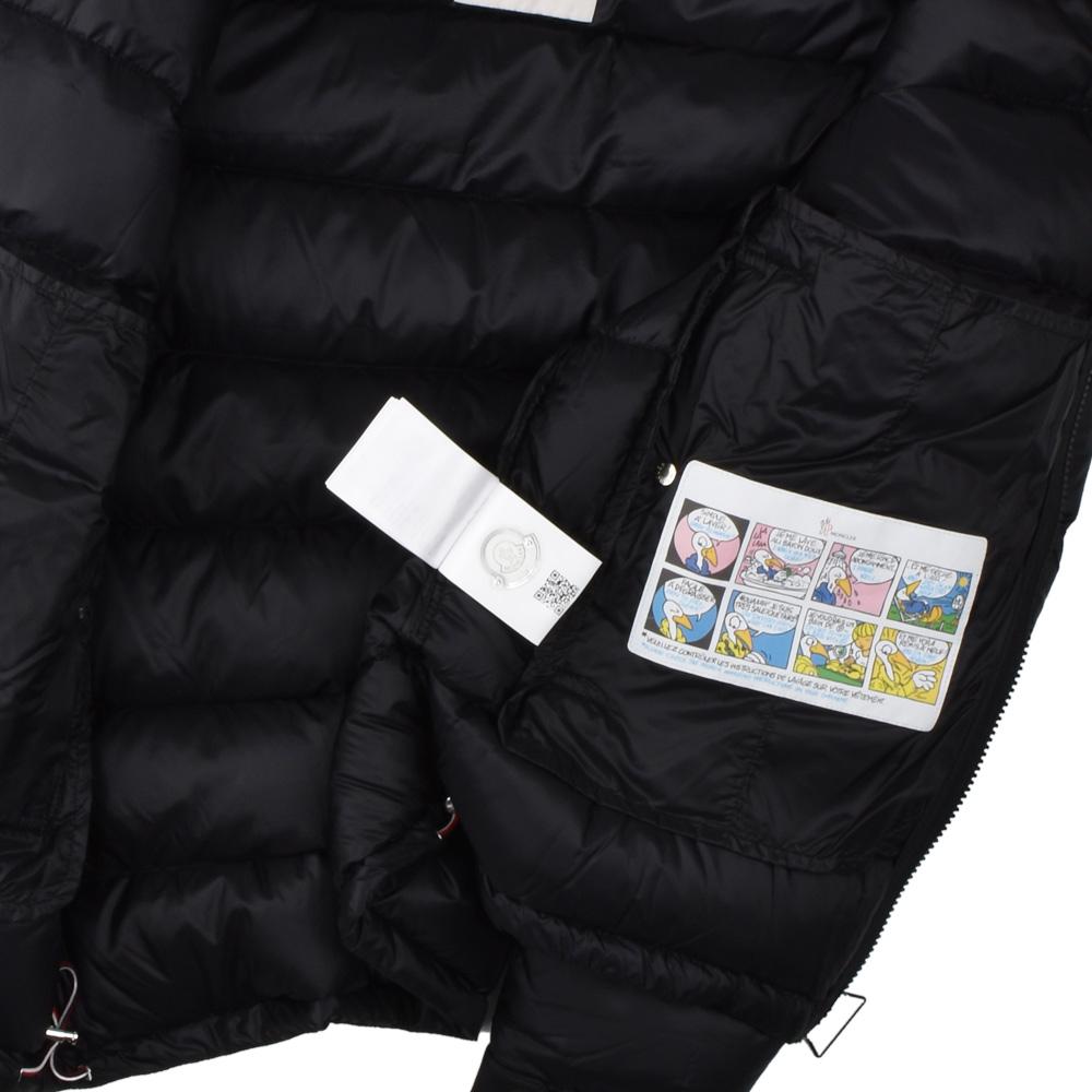 ae8ae5949 Monk rail MONCLER 41811.49 53334/999 BRAMANT BLACK down jacket blouson  black black men