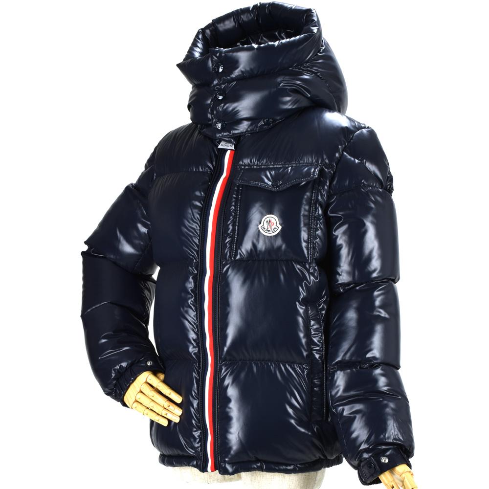 92369af52 Monk rail MONCLER 41874.05 68950/742 MONTBELIARD DARK MIDNIGHT BLUE mon  Berri Al down jacket dark navy Boys Lady's