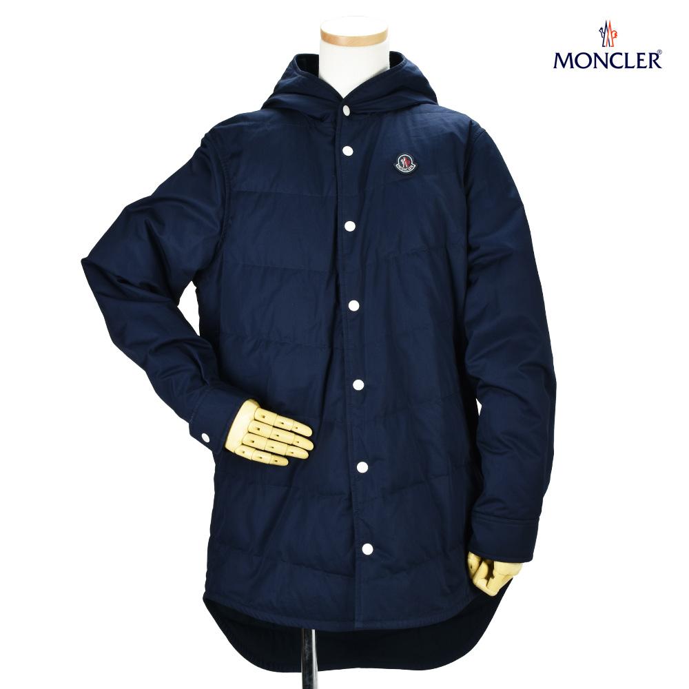 43d535766 Monk rail MONCLER 42305.05 57645/742 MONCLER X KITH SOULARAC DARK NAVY down  jacket hooded down jacket blouson dark navy dark blue men