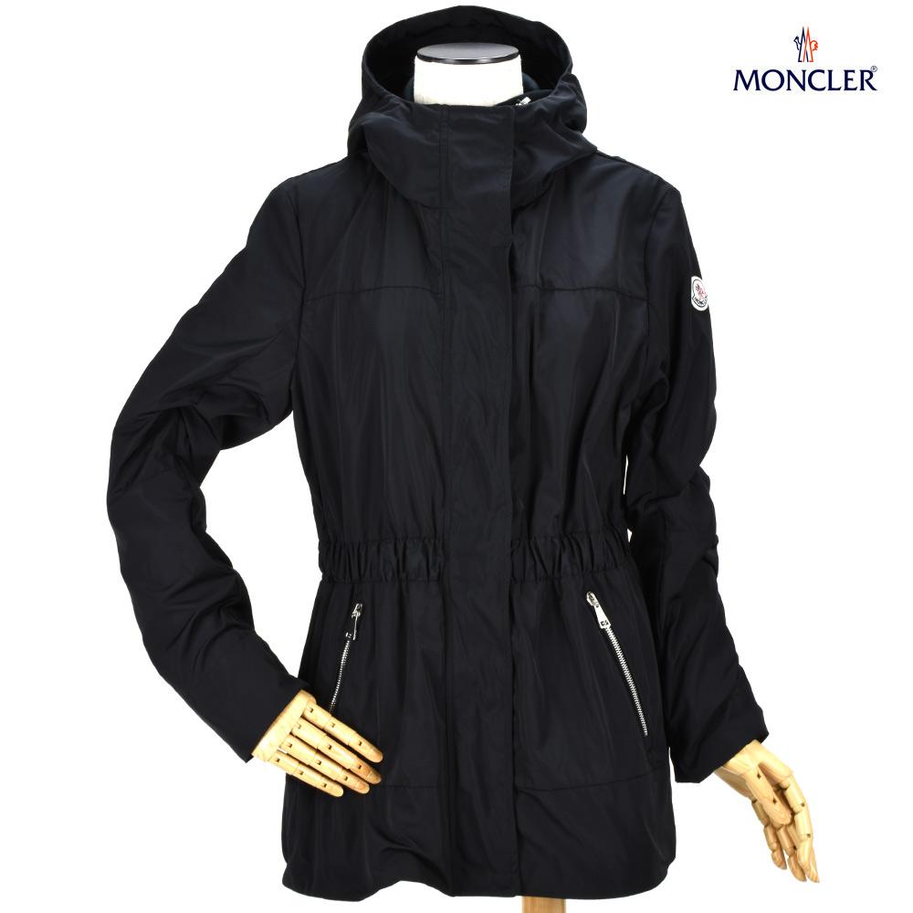 モンクレール MONCLER 46004.05 54543/999 JACKET DISTHENE BLACK スプリングジャケット パーカー ブラック 黒 レディース【送料無料】