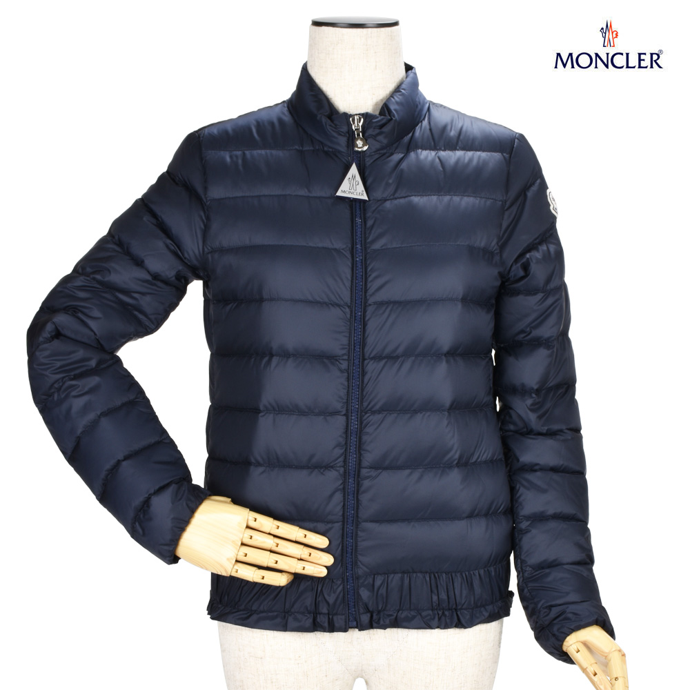 54a084f81 Monk rail MONCLER 46856.99 53048/778 ABRICOT LONGUE SAISON NAVY down jacket  ultra light down jacket blouson navy dark blue Lady's