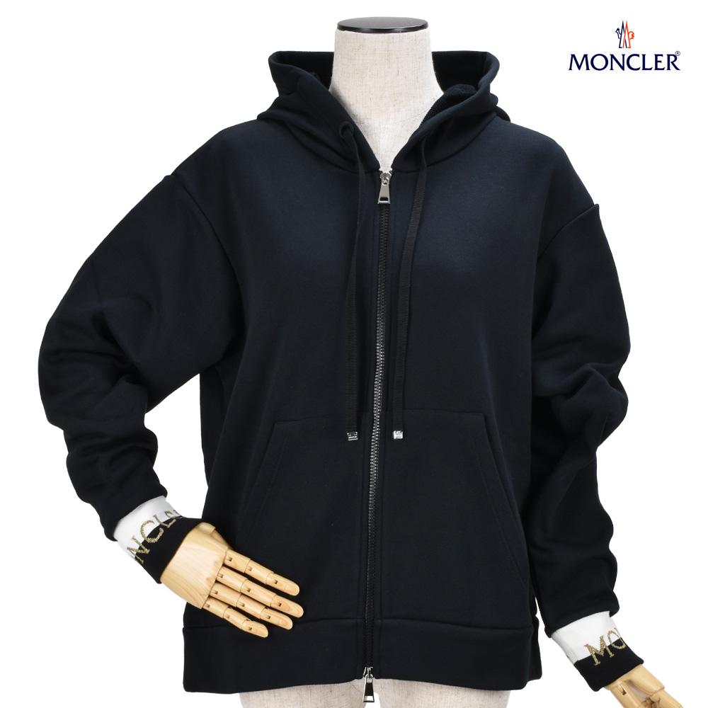 モンクレール パーカー ジップアップパーカー フーディー ブラック 黒 レディース MONCLER 84594.00 V8000/999 HOODIE BLACK【送料無料】