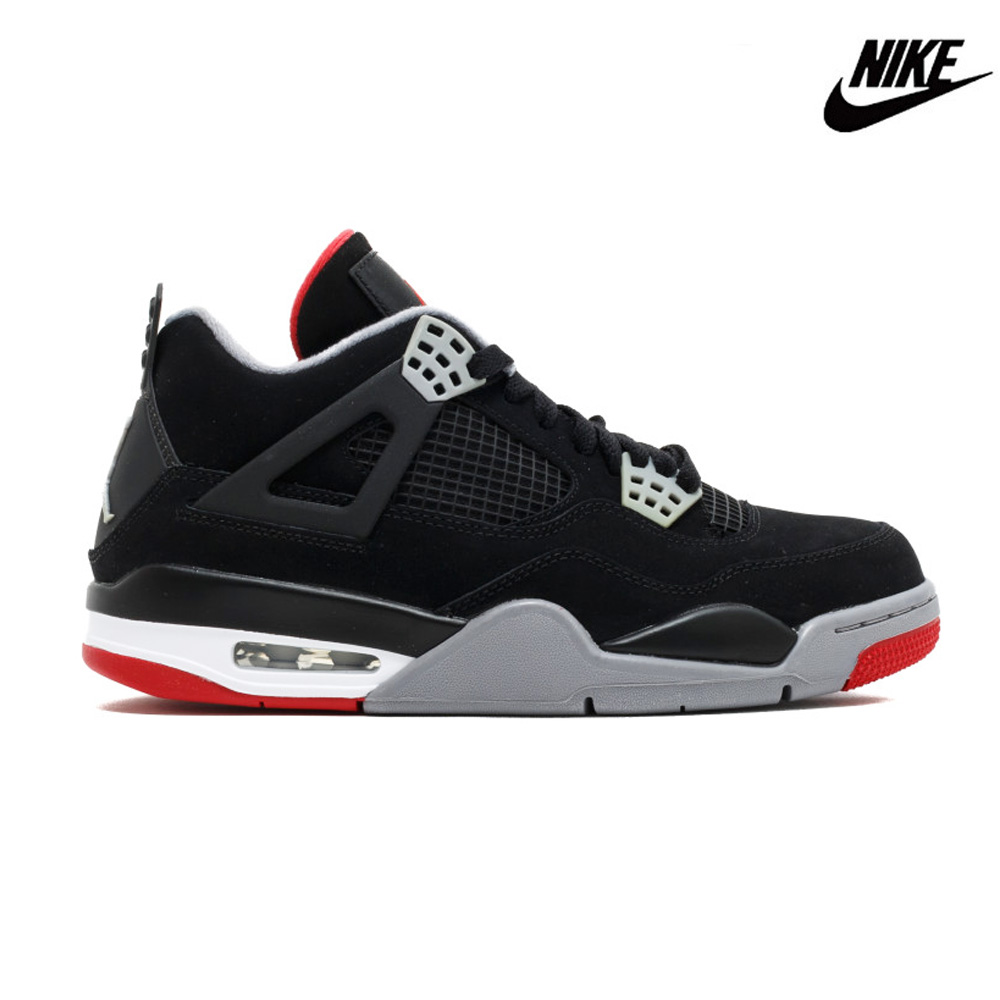 huge discount f6675 9867a Nike Air Jordan 4 nostalgic OG basketball shoes basketball shoes sneakers  AJ4 bread black fire red cement gray NIKE 308,497-060 AIR JORDAN 4 RETRO ...