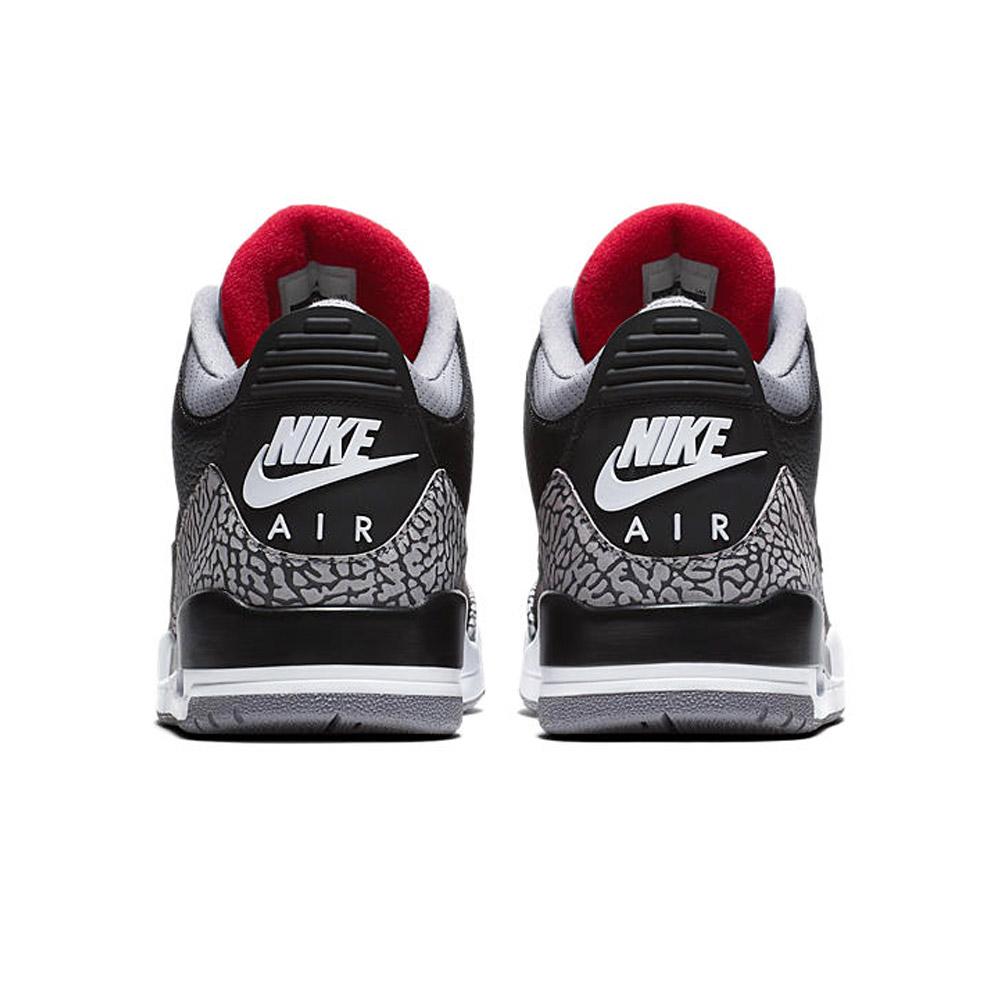 best website 205ce 4d833 Nike NIKE AIR JORDAN 3 RETRO OG BLACK CEMENT 854,262-001 Air Jordan 3  nostalgic OG black cement sneakers basketball shoes black black BLACK men