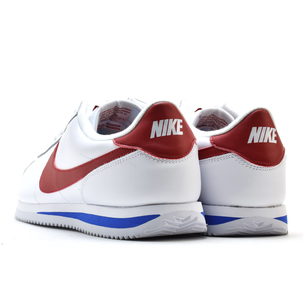new product 3e836 9b2e0 Nike NIKE CORTEZ BASIC LEATHER OG 882,254-164 WHITE コルテッツベーシックレザー OG  sneakers low-frequency cut white red blue men