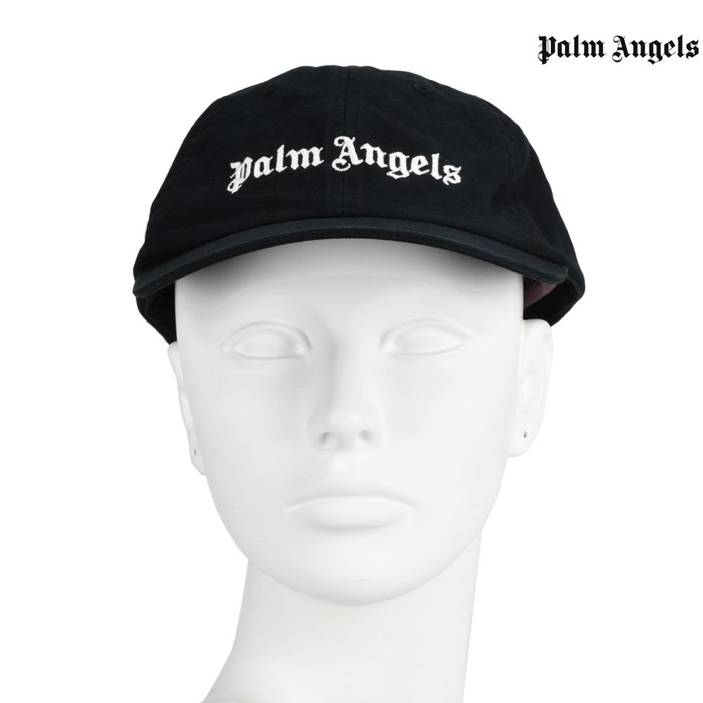 941f1f82639 Palm Angels PALM ANGELS PMLB003F182240341001 CAP BLACK classical music logo  cap hat black black men