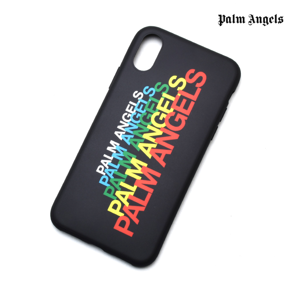 the best attitude e47a7 29d98 Palm Angels iPhone X case carrying case smartphone case black black men gap  Dis PALM ANGELS PMPA006S192420571088 IPHONE X COVER BLACK MULTI