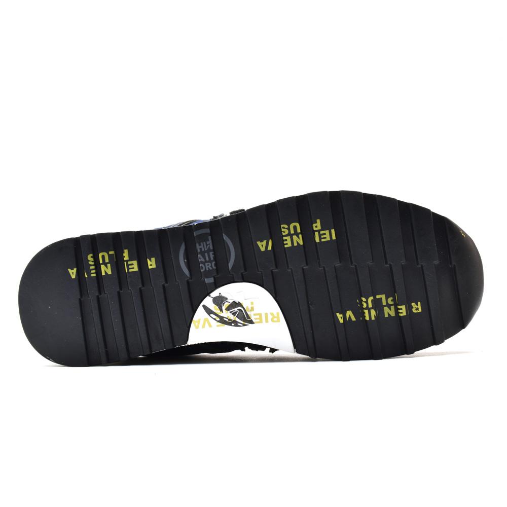 プレミアータ PREMIATA LUCY 2460 NAVY OLIVE Lucy low-frequency cut sneakers  running shoes navy olive men 628f3d654c5
