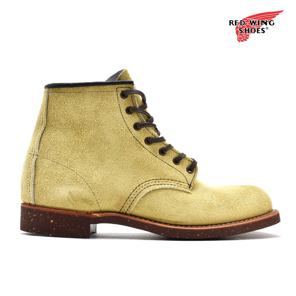 742241d8aa4 Red wing REDWING 2960 BLACKSMITH Brach's Miss work boots camel round toe D  Wise men