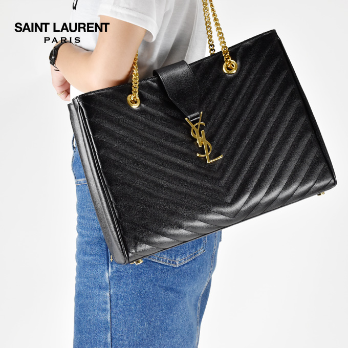 Sanrolampari Saint Lau Monogram Black Grampawdertexchard Quilted Leather Women S Bag Chains