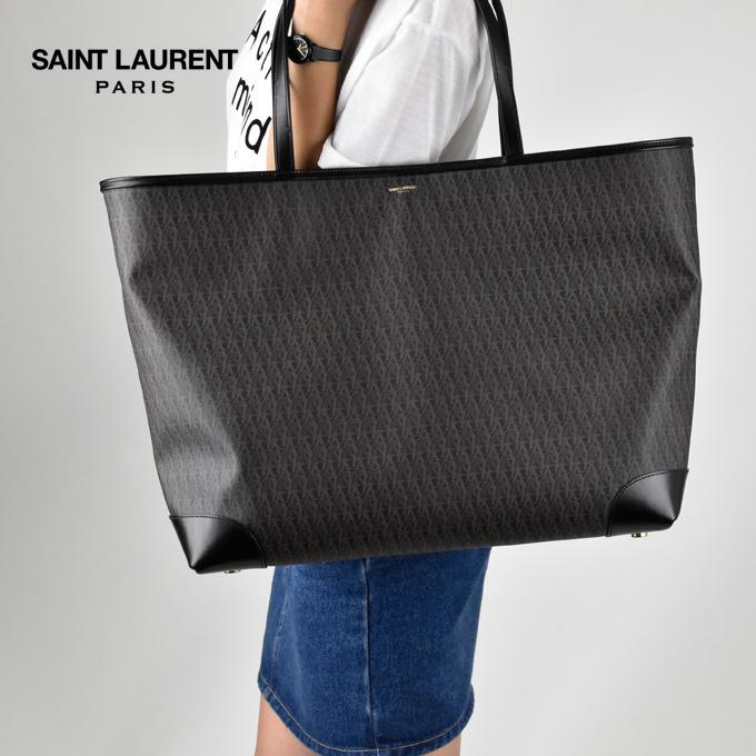 9cbd35916f5 CLOUDMODA: Sanrolampari SAINT LAURENT classic toile Monogram ladies / mens / BAG / bag / tote bag / commuting | Rakuten Global Market