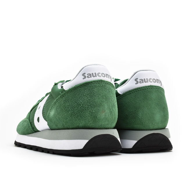 promo code 6f9eb 8e1d5 SAUCONY サッカニーメンズジャズオリジナル JAZZ ORIGINAL gray blue dark blue green green  sneakers