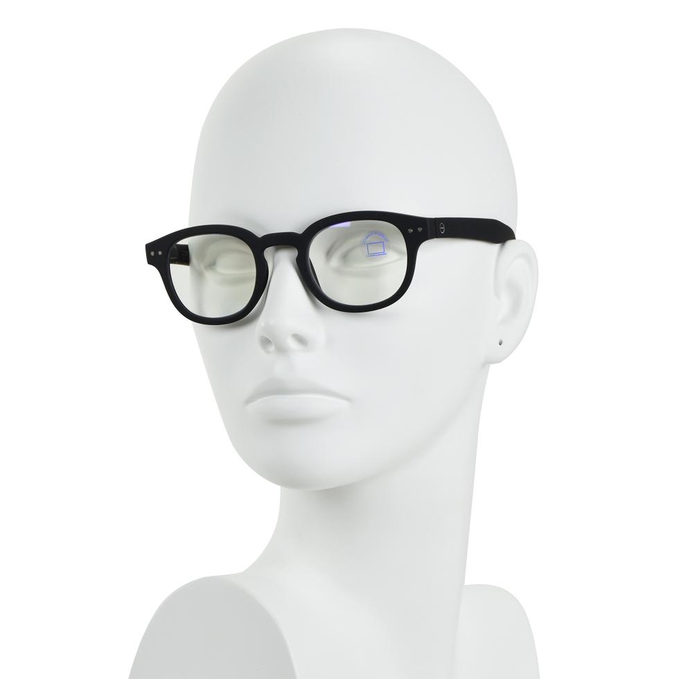 请参见概念海概念 #C + 屏 0 黑色软眼镜男子组合 / 蓝色光的保护 PC 眼镜 02P01Oct16