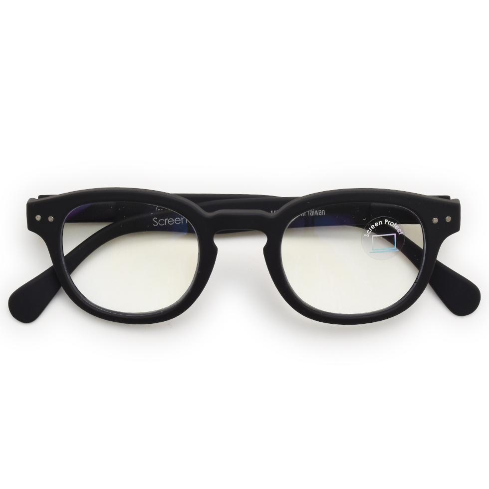 See concept 찾는 컨셉 SCREEN # C + 0 BLACK SOFT 안경/남녀 공용/블루 라이트 제한/PC 안경 02P01Oct16