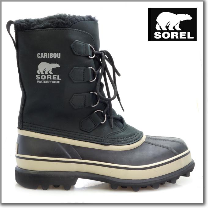 747c00a1af7 For the Sorrel SOREL boots Caribou Black/Tusk men man (Sorel CARIBOU  Black/Tusk Boot Boots Snow boots winter boots shoes, boots Sorel sorel  soreru ...