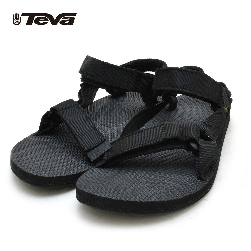 289b048ecb81 TEVA Teva men original universe Urban ORIGINAL UNIVERSAL 1004010 BLACK  black sports sandals hurricane