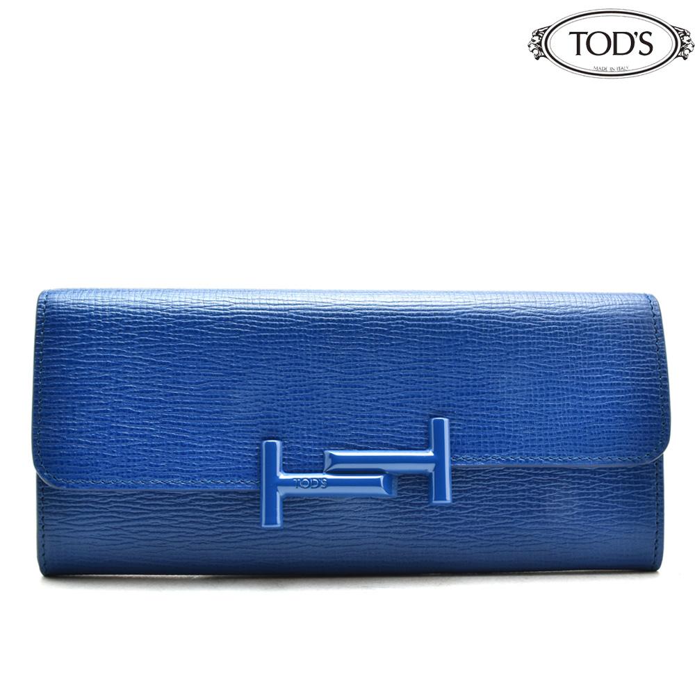 6295b7147aab トッズ TODS XAWAMUB0401RRO/U821 長財布 スナップボタン 青 ブルー BLUE レディース【送料無料】 無印良品