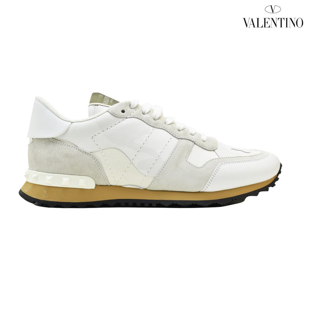 a50136da1955b Valentino VALENTINO PY2S0723TCC/0BO ROCKRUNNER SNEAKER WHITE lock runner  sneakers low-frequency cut white ...