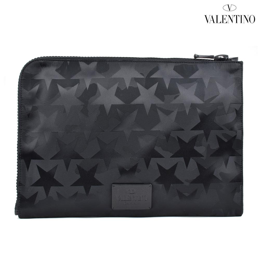 ヴァレンティノ VALENTINO MY2B0457NJQ/0NO Rockstud Camustars ロックスタッズ クラッチバッグ ブラック 黒 メンズ BAG BLACK【z20o】