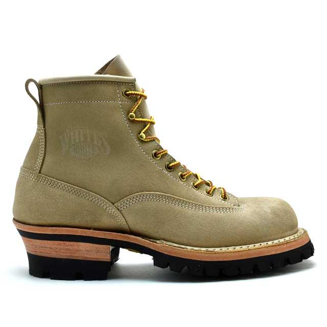 【1000円OFFクーポン配布 2/26 11:59まで】ホワイツ ブーツ スモークジャンパー デザートサンド ラフアウト White's Boots Smoke Jumper 350BVROLTT Desert Sand 【送料無料】