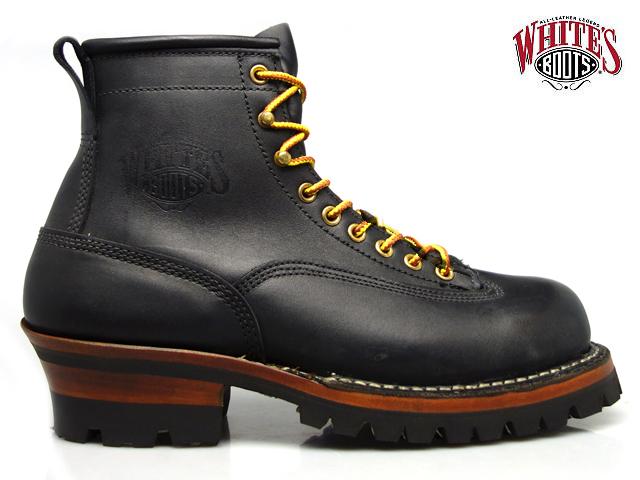【SS期間最大5000円OFFクーポン配布 6/4 20:00~6/11 11:59まで】ホワイツ ブーツ スモークジャンパー White's Boots 350MVLTTRT BLACK DOM SMOKE JUMPER ワークブーツ 【送料無料】