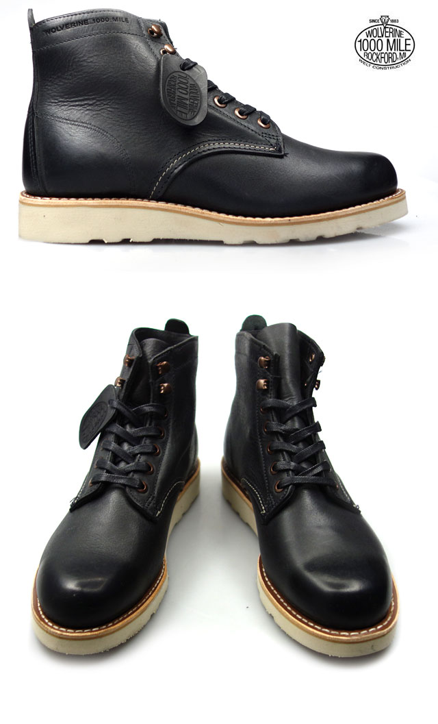 1ef919f50d0 Wolverene WOLVERINE Prestwick 1000MILE BOOTS W00914 Wolverene 1,000 miles  boots vibram sole Goodyear welt manufacturing method work boots