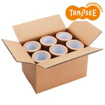 包装用布テープ 無包装タイプ 50mm×25m 1セット(90巻:30巻×3ケース)