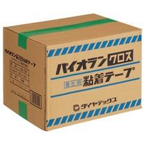 ダイヤテックス パイオランクロス粘着テープ 塗装養生用 25mm×25m 緑 Y-09-GR-25 1セット(60巻)