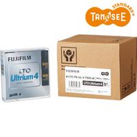 TANOSEE 富士フイルム LTO Ultrium4 データカートリッジ 800GB/1.6TB 1パック(5巻)