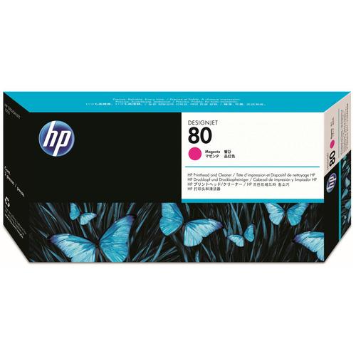 HP HP80 プリントヘッド/クリーナー マゼンタ C4822A 1個