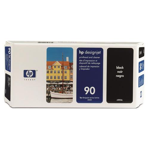 HP HP90 プリントヘッド/クリーナー 黒 C5054A 1個