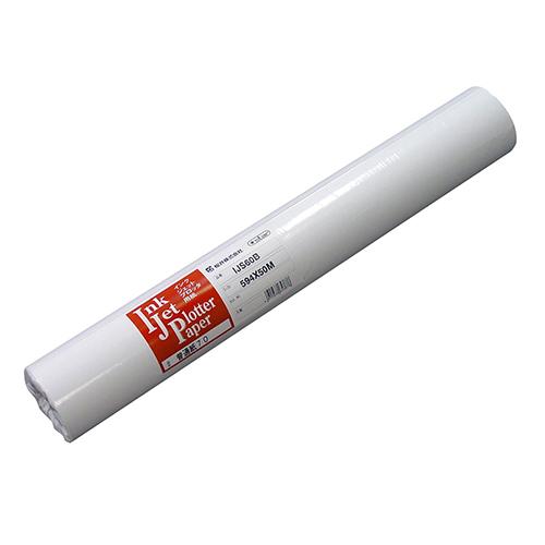 桜井 インクジェット用普通紙70 A0ロール 841mm×50m IJS60A 1箱(2本)
