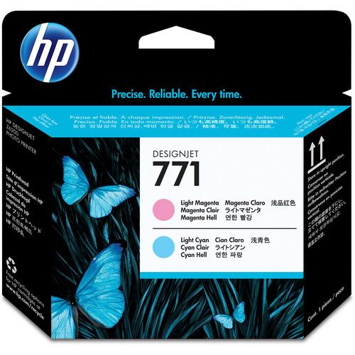 HP HP771 プリントヘッド ライトマゼンタ/ライトシアン CE019A 1個