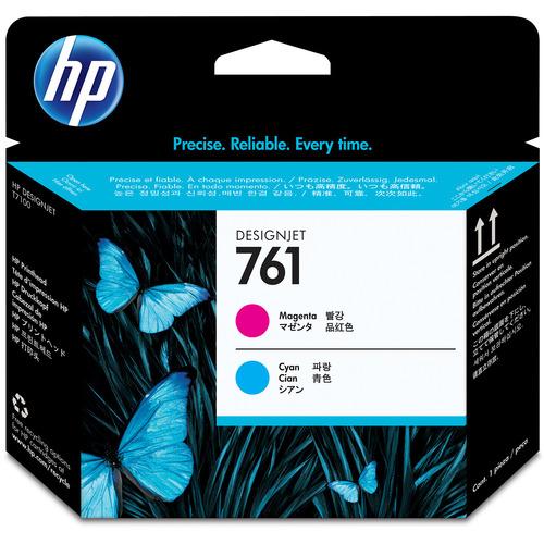 HP HP761 プリントヘッド マゼンタ/シアン CH646A 1個