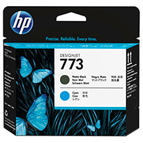 HP HP773 プリントヘッド マットブラック・シアン用 C1Q20A 1個