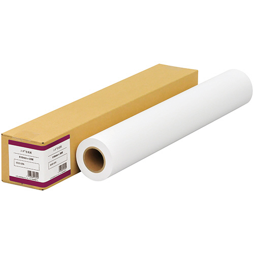 中川製作所 インクジェット用マットフィルム(ユポ製合成紙) 1067mm×30m 0000-208-213B 1本