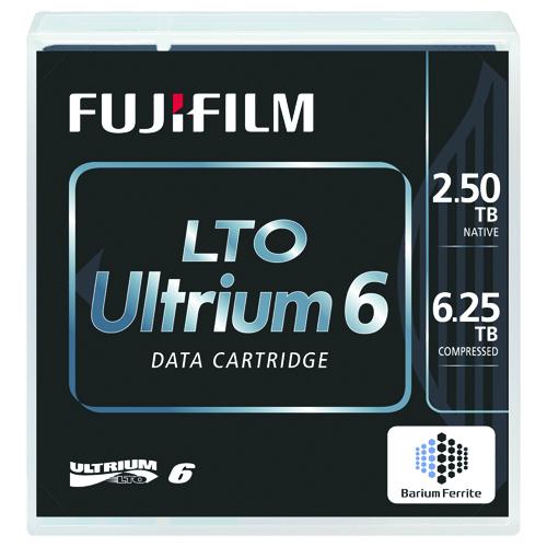 富士フイルム LTO Ultrium6 データカートリッジ バーコードラベル(縦型)付 2.5TB LTO FB UL-6 OREDPX5T 1箱(5巻)