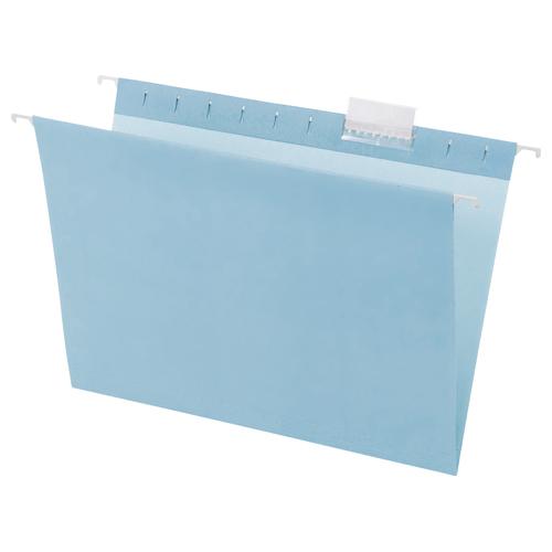 ハンギングフォルダー A4 ブルー 1セット(50冊:5冊×10パック)